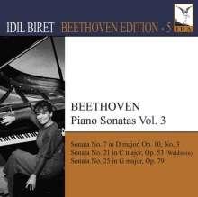 Idil Biret - Beethoven Edition 5/Klaviersonaten Vol.3, CD