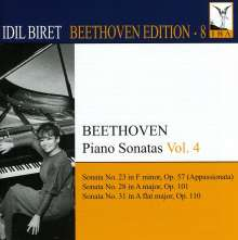 Idil Biret - Beethoven Edition 8/Klavierkonzerte Vol.4, CD