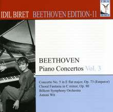 Idil Biret - Beethoven Edition 11/Klavierkonzerte Vol.3, CD