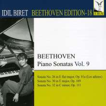 Idil Biret - Beethoven Edition 18/Klaviersonaten Vol.9, CD