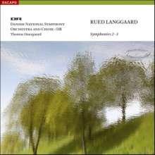 Rued Langgaard (1893-1952): Symphonien Nr.2 & 3, SACD