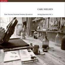 Carl Nielsen (1865-1931): Sämtliche Streichquartette Vol.2, SACD