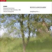 Rued Langgaard (1893-1952): Symphonie Nr.1, SACD