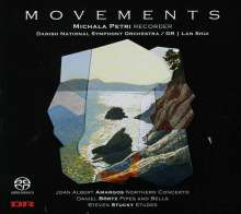 Michala Petri - Movements, Super Audio CD