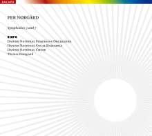 Per Nörgard (geb. 1932): Symphonien Nr.3 & 7, SACD