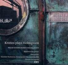 Pelle Gudmundsen-Holmgreen (geb. 1932): Concerto grosso für Streichquartett & symphonisches Ensemble, SACD