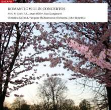 Christina Astrand - Romantic Violin Concertos, SACD
