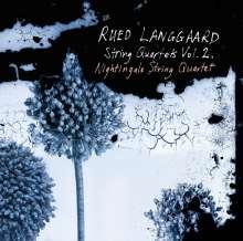 Rued Langgaard (1893-1952): Streichquartette Vol.2, CD
