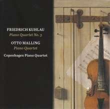 Otto Malling (1848-1915): Klavierquartett c-moll op,.80, Super Audio CD