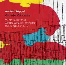 Anders Koppel (geb. 1947): Marimbakonzerte Nr.1-4, Super Audio CD