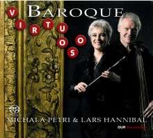 Michala Petri & Lars Hannibal - Baroque Virtuoso, Super Audio CD