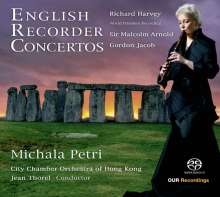 Michala Petri - English Recorder Concertos, SACD