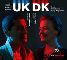 Michala Petri & Mahan Esfahani - UK DK, Super Audio CD