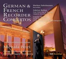 Michala Petri - German & French Recorder Concertos, SACD