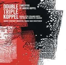 Anders Koppel (geb. 1947): Konzert für Blockflöte, Saxophon & Orchester, Super Audio CD