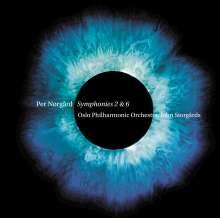 Per Nörgard (geb. 1932): Symphonien Nr.2 & 6, SACD