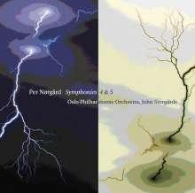 Per Nörgard (geb. 1932): Symphonien Nr.4 & 5, Super Audio CD