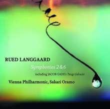 Rued Langgaard (1893-1952): Symphonien Nr.2 & 6, SACD