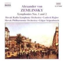 Alexander von Zemlinsky (1871-1942): Symphonien Nr.1 & 2, CD
