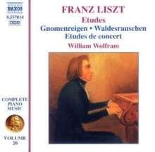 Franz Liszt (1811-1886): Klavierwerke Vol.20, CD