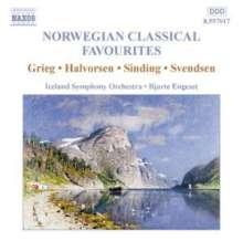 Norwegian Classical Favourites, CD