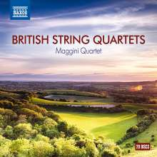 Maggini Quartet - British String Quartets, 20 CDs