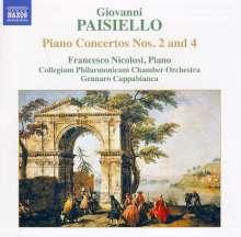 Giovanni Paisiello (1740-1816): Klavierkonzerte Nr.2 & 4, CD