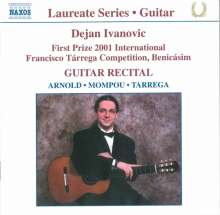 Dejan Ivanovic - Guitar Recital, CD