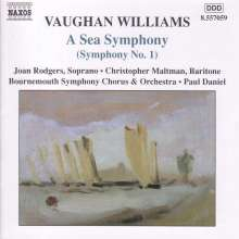 "Ralph Vaughan Williams (1872-1958): Symphonie Nr.1 ""A Sea Symphony"", CD"