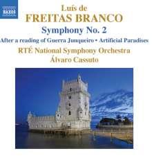 Luis de Freitas Branco (1890-1955): Symphonie Nr.2, CD