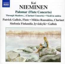 """Kai Nieminen (geb. 1953): Flötenkonzert """"Palomar"""", CD"""