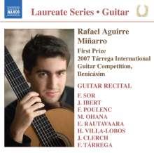 Rafael Aguirre Minarro - Guitar Recital, CD