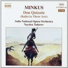 Ludwig Minkus (1826-1917): Don Quixote (Ballett), 2 CDs