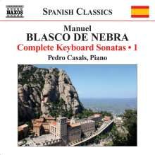 Manuel Blasco De Nebra (1750-1784): Sämtliche Klaviersonaten Vol.1, CD