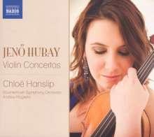 Jenö Hubay (1858-1937): Violinkonzerte Nr.1 & 2, CD
