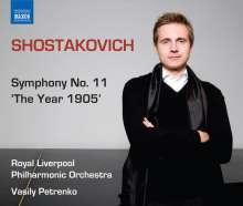 Dmitri Schostakowitsch (1906-1975): Symphonie Nr.11, CD