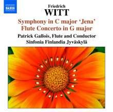 "Friedrich Witt (1770-1837): Symphonien C-Dur ""Jena"" & A-Dur, CD"