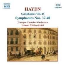 Joseph Haydn (1732-1809): Symphonien Nr.37-40, CD