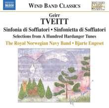 Geirr Tveitt (1908-1981): Sinfonia de Soffiatori, CD