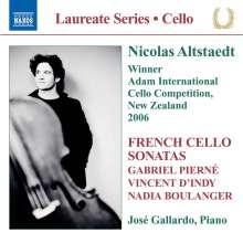 Nicolas Altstaedt - French Cello Sonatas, CD