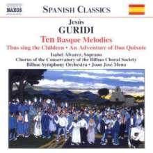 Jesus Guridi (1886-1961): 10 Baskische Lieder für Orchester, CD