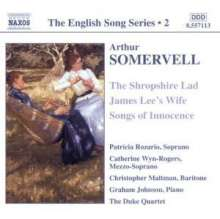 Arthur Somervell (1863-1937): Lieder, CD
