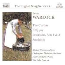 Peter Warlock (1894-1930): Lieder, CD