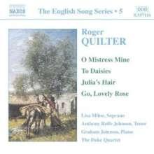 Roger Quilter (1877-1953): Lieder, CD