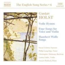 Gustav Holst (1874-1934): Liederzyklen, CD