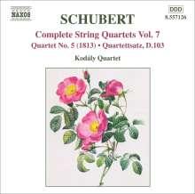 Franz Schubert (1797-1828): Streichquartett Nr.5, CD