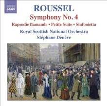 Albert Roussel (1869-1937): Symphonie Nr.4, CD