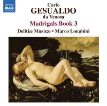 Carlo Gesualdo von Venosa (1566-1613): Madrigali Buch 3, CD