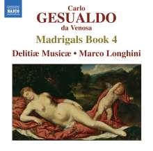 Carlo Gesualdo von Venosa (1566-1613): Madrigali Buch 4, CD