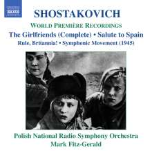 Dimitri Schostakowitsch (1906-1975): Podrugi (The Girlfriends) op.41 (komplette Filmmusik), CD